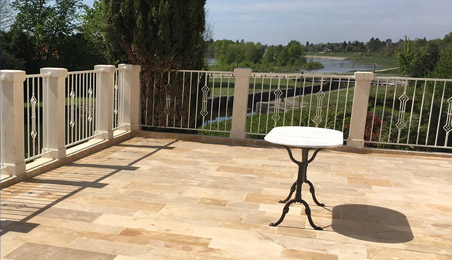 Reference SAREPS Balcon Terrasse